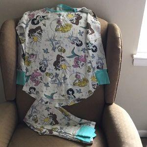 Disney Princesses Thermal PJ Set